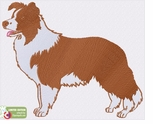 bordercollie119 Border Collie (small or large design)