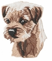 borter005 Border Terrier (small or large design)