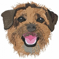borter006 Border Terrier (small or large design) - Click to enlarge