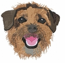 borter006 Border Terrier (small or large design)