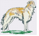 borzoi001 Borzoi (small or large design)