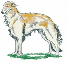 borzoi002 Borzoi (small or large design)
