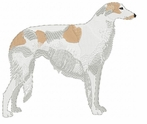borzoi010 Borzoi (small or large design)