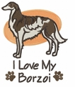 borzoi012 Borzoi (small or large design)