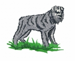 bouvier001 Bouvier des Flandres (small or large design)