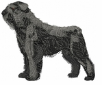 bouvier005 Bouvier des Flandres (small or large design)
