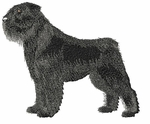bouvier010 Bouvier des Flandres (small or large design)