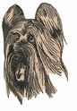 briard001 Briard   (small or large design)