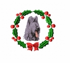 briard1wreath Briard   (small or large design)