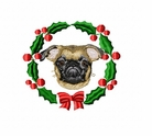 brusselsgrif1wreath Brussels Griffon (small or large design)