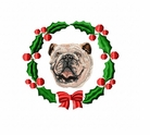 bulldog2wreath Bulldog (small or large design)