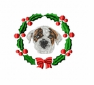 bulldog3wreath Bulldog (small or large design)