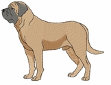 bullmastiff002 Bullmastiff (small or large design)
