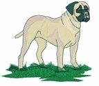 bullmastiff004 Bullmastiff (small or large design)