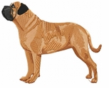 bullmastiff009 Bullmastiff (small or large design)