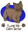 cairn010 Cairn Terrier (small or large design)