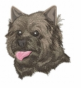 cairn014 Cairn Terrier (small or large design)