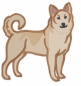 canaandog002 Canaan Dog (small or large design)