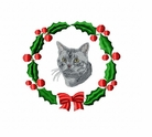 cat1wreath Cat (small or large design)