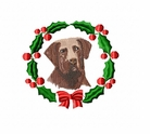 chesa2wreath Chesapeak Bay Retreiver  (small or large design)