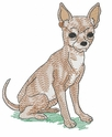 chihuahua012 Chihuahua (small or large design)