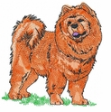 chow002 Chow Chow (small or large design)