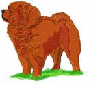chow006 Chow Chow (small or large design)