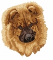 chow013 Chow Chow (small or large design)