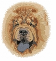 chow014 Chow Chow (small or large design)