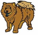 chow015 Chow Chow (small or large design)