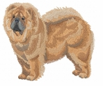 chow020 Chow Chow (small or large design)