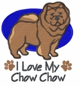 chow021 Chow Chow (small or large design)