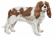 ckcs001 Cavalier King Charles Spaniel (small or large design)