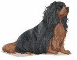 ckcs008 Cavalier King Charles Spaniel (small or large design)