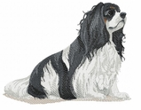 ckcs009 Cavalier King Charles Spaniel (small or large design)