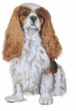 ckcs023 Cavalier King Charles Spaniel (small or large design)
