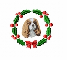 ckcs1wreath Cavalier King Charles Spaniel (small or large design)