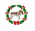 ckcs3wreath Cavalier King Charles Spaniel (small or large design)