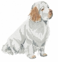 clumber001 Clumber Spaniel (small or large design)