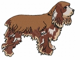 cocker004 Cocker Spaniel (small or large design)