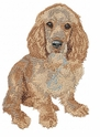 cocker005 Cocker Spaniel (small or large design)