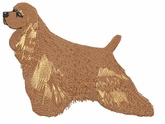 cocker008 Cocker Spaniel (small or large design)