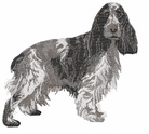 cocker011 Cocker Spaniel (small or large design)