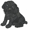 cocker019 Cocker Spaniel (small or large design)