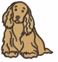 cocker024 Cocker Spaniel (small or large design)