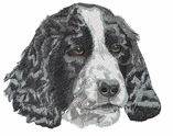 cocker027 Cocker Spaniel (small or large design)