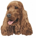 cocker036 Cocker Spaniel (small or large design)