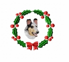 collie2wreath Collie (small or large design)