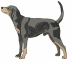 coonhound005 Coonhound  (small or large design)