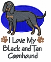 coonhound018 Coonhound  (small or large design)